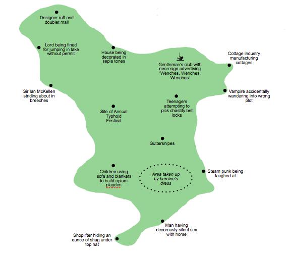 Derbyshire map