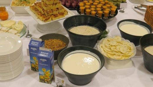 Aland breakfast selection