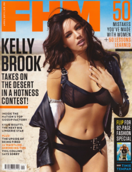 Kelly Brook FHM