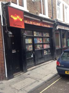 Spanish music shop